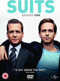 Suits - Season 1 (DVD) - Cover