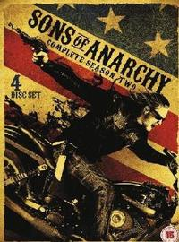 Sons of Anarchy - Season 2 (DVD) - Cover