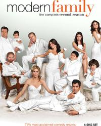 Modern Family - Season 2  (DVD) - Cover