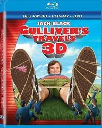 Gulliver's Travels (3D Blu-ray) - Cover