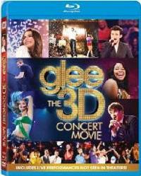 Glee: The Concert Movie (3D Blu-ray) - Cover