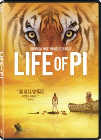 Life of Pi (DVD) - Cover