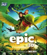 Epic (3D Blu-ray) - Cover