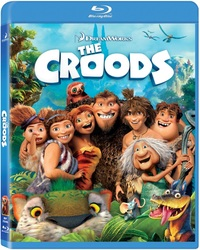 The Croods (Blu-ray) - Cover