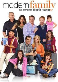 Modern Family - Season 4 (DVD) - Cover