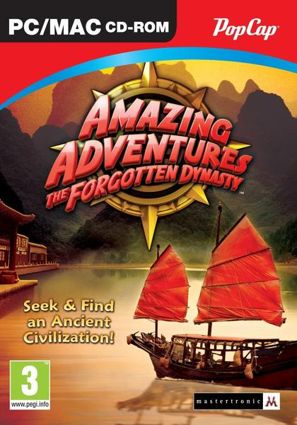 Mtf000522 - Amazing Adventures: The Forgotten Dynasty (PC)