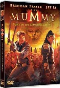 The Mummy: Tomb of the Dragon Emperor (DVD) - Cover