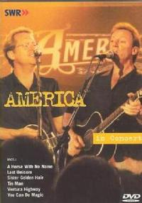 America - In Concert (Region 1 DVD) - Cover