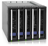 Icy Dock 155sp-b Five Bay Mobile 3.5 inch HDD Rack