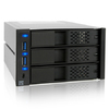 Icy Dock 973SP-2b Triple Bay Mobile 3.5 inch HDD Rack with USB