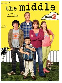 The Middle - Season 2 (DVD) - Cover