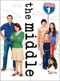 The Middle - Season 1 (DVD) - Cover