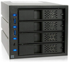 Icy Dock 974SP-2b Quad Bay Mobile 3.5 inch HDD Rack