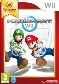 Mario Kart (without wheel) (Wii) - Cover