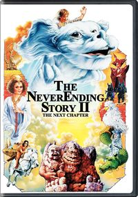 The Never Ending Story II - The Next Chapter (DVD) - Cover