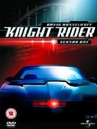Knight Rider: Series 1 (DVD) - Cover