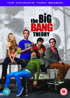 Big Bang Theory - Season 3 (DVD) Cover