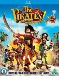 The Pirates! In an Adventure With Scientists (Blu-ray) - Cover