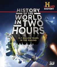 History of the World In Two Hours (3D Blu-ray) - Cover
