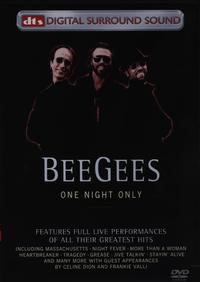 Bee Gees - One Night Only - Live (DVD) - Cover
