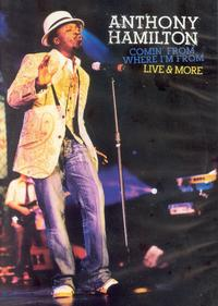 Anthony Hamilton - Comin' From Where I'm From - Live (DVD + CD) - Cover