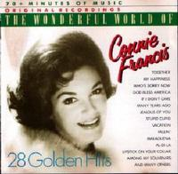 Connie Francis - Wonderful World Of Connie Francis (CD) - Cover
