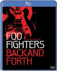 Foo Fighters - Back and Forth (Blu-ray) - Cover