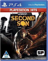 inFAMOUS Second Son - PlayStation Hits (PS4) - Cover