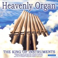 Various Artists - Heavenly Organ (CD) - Cover