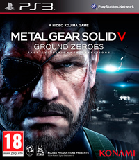 Metal Gear Solid V: Ground Zeroes (PS3) - Cover