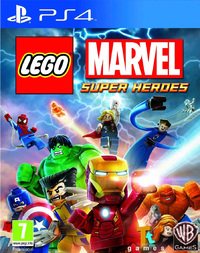 LEGO Marvel Super Heroes (PS4) - Cover