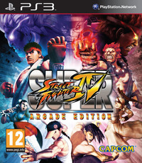 Super Street Fighter IV: Arcade Edition (PS3) - Cover