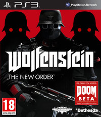Wolfenstein: The New Order (PS3) - Cover