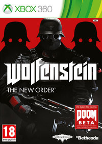 Wolfenstein: The New Order (Xbox 360) - Cover