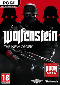 Wolfenstein: The New Order (PC) - Cover