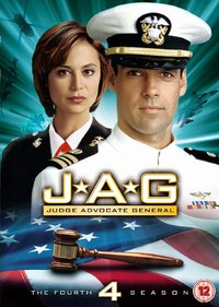 JAG - Season 4 (DVD) - Cover