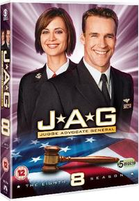 JAG - Season 8 (DVD) - Cover