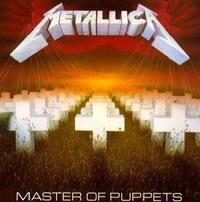 Metallica - Master Of Puppets (CD) - Cover