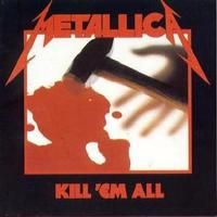 Metallica - Kill 'em All (CD) - Cover