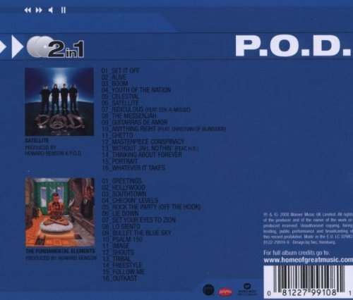 P O D  - Satellite/the Fundamental Elements (2 On (CD)