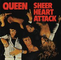 Queen - Sheer Heart Attack (CD) - Cover