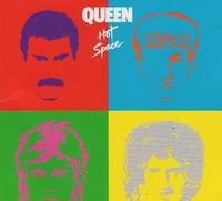 Queen - Hot Space (CD) - Cover