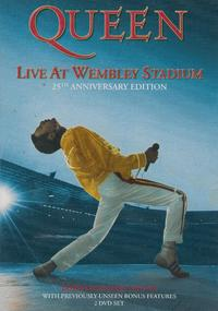 Queen - Live At Wembley Stadium (DVD) - Cover