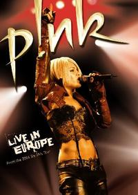 Pink - Live In Europe (DVD) - Cover