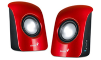 Genius S115 Speakers - Red - Cover