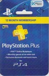 365 Day Subscription - PlayStation Plus (PS3/PS4/PS VITA)