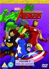Avengers - Vol 3: Iron Man Unleashed (DVD) Cover