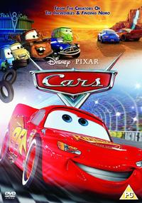 Cars (DVD) - Cover