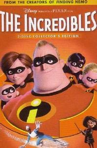 The Incredibles (DVD) - Cover