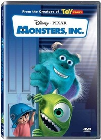 Monsters Inc. (DVD) - Cover